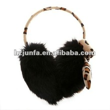 2012 best selling warm pretty plush girls winter fashion ear muffs