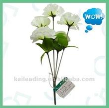 La decoración de funeral, de plástico de flores funeral, artificial de flores de color lila