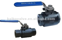 2-PC female-male Ball Valves (stainless steel or carbon steel)