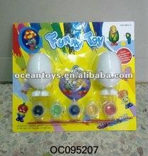 2012 new toys school toys DIY W/U egg can draw on the egg OC095207