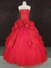 (A6623) Guangzhou Stephanie 2012 New Style Beaded Red Wedding Dresses