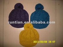 Fashion crocheted lady's winter brim Hats