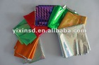 color metal film for packaging