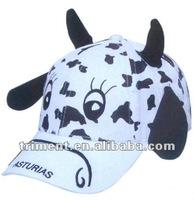 100% cotton children animal cap