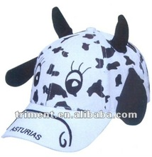 100% cotton children animal cap