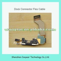 latest original iphone 4s charging port dock flex cable