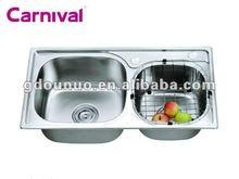 kitchen stainless steel hand wash basins K7641A