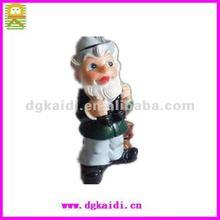 2012 fashion design plastic Santa Claus figurines christmas gifts