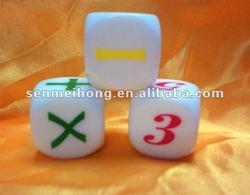 Make new edcational dice,Edcation toys