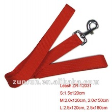 2012 quality Dog Leash with red color