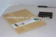 Green bamboo chopping board /chopping board