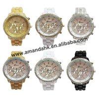 Fashion quartz wrist watch,chronograph designer dial
