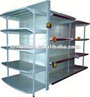 Compound supermarket shelf wobbler