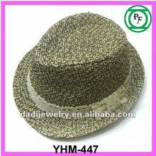 children fedora paper straw hat