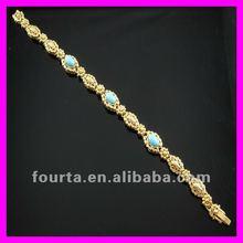 2012 titanium 18K gold vacuum plated women bracelet 1530382