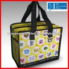 Cartoon pp laminated non woven shopping bag.