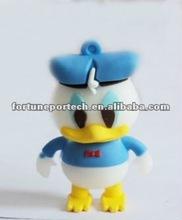 rubber duck usb flash drive ( cartoon usb flash drive)