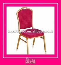 2012 Pretty organza wedding decorations hotel chair