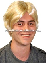 synthetic Mens toupee