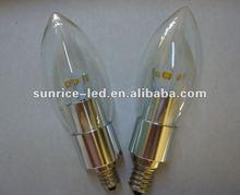 High quality new item E12 Led candle light
