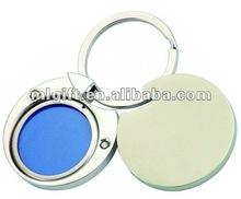 2012 hot sale photo frame alloy key chain, key ring, key holder