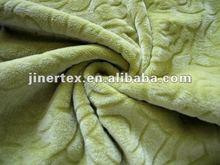 short-pile velour fabric