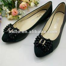 New Style Black Color Rhinestone Shoe Clips