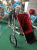 Folding bike with child double seat children tricycle