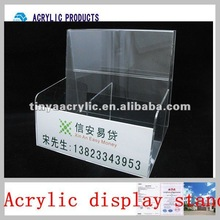 2012 new design and fashion brochure holder and box