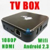 New coming !!! Android 2.3 TV box ARM Cortex A9 WIFI HD internet USB 1080P HDMI player Amlogic 8726 X1-801