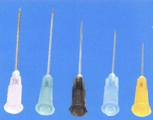 Disposable sterile needles