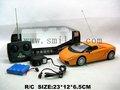4ch simulação rc carro aberto com luzes, veículo de brinquedo