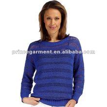 Ocean open knit fashion sweater 2012
