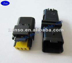 3 way Black Sicma/ FCI male female automotive connector