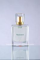 unique square glass perfume bottle for men in 2012