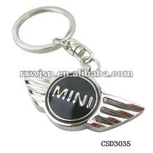 Mini Cooper Car Logo Metal Key Chain Key Ring Pendant