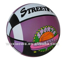 Basketball official size and weight/ popular sport/ hot sales rubber basketball(RB082)