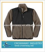 2012 men's cheap applique fleece jacket