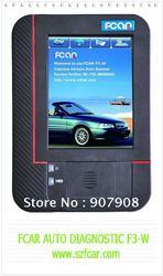 japanese car, america car,europe car diagnsotic scannerFCAR F3-W