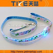 The Colorful footprints Series-LED dog leash TZ-PET3502B Electronic dogs leash