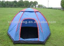 Many people hexagonal tent 210X240X130