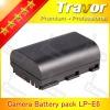 for Canon DSLR Camera lithium ion battery 7.4v 1300mah external battery pack