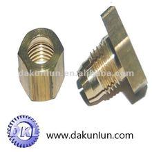 Motor shaft brass bushing
