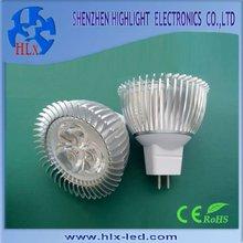 3 W,MR16 LED spot light with good heat dissipation