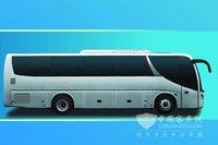 korea daewoo engine GL6118HS long bus for sale