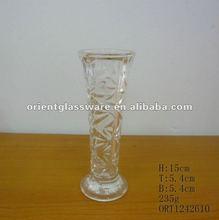 glass vase for flower arrangement