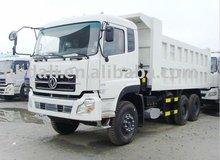 Dongfeng 6*4 white heavy dump truck