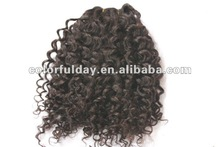"""100% HUMAN HAIR PERMANENT HAIR EXTENSIONS 20"""" #613 BODY WAVE"""