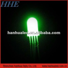 high brightness four pin led color red white and yellow or other combination