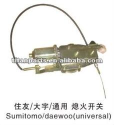 Sumitomo/Daewoo stop solenoid
